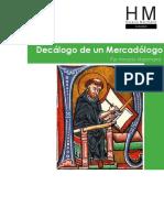 Dacalogo de Un Mercadologo Autor Horacio Marchand