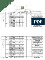 Calendarización Escolar 2019 0key