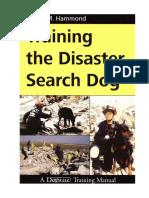 Entrenando Al Perro de Busqueda en Catastrofes