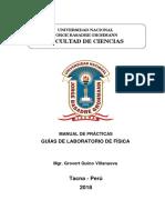 Presentacion y Prologo Guia o Manual de Laboratorio de Fisica - Copia