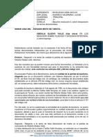 Absuelve Resolucion 3 Tachas Exp. 0160-2018