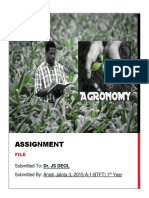 Agronomy File
