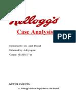 KELLOGG Case Analysis
