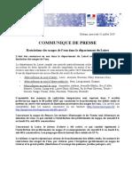 Nouvel arrêté de restrictions de l'usage de l'eau dans le Loiret (
