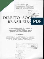 Direito Social Brasileiro Capitulos 3 a 10 Do Livro Antonio Cesarino Jr
