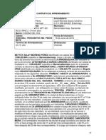 Contrato de Arrendamiento Septiembre 2014