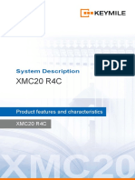 Keymile XMC20 system description