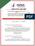 Informativo Online v.3, n.71, De 28.06.2019
