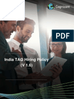 CTS Hiring Policy