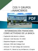 Bancos y Grupos Financieros Guatemala