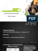 Thesimplificationofthecampusnetwork Juniper Networkshop44 160323140412