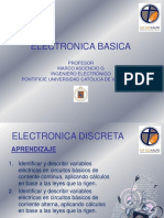 Presentación de electrónica básica