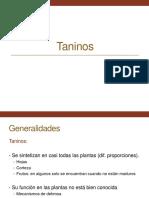 7. Taninos