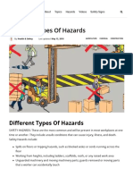 Different Types of Hazards