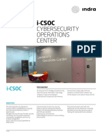 Indra I-csoc Cybersecurity Operations Center
