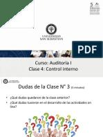 Curso_ Auditoría I Clase 4_ Control Interno