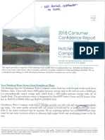 Hutchinson Water Co. Report