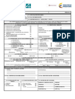 Formulario Unico Nacional PARA CURADURIAS