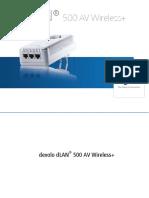 Devolo DLAN 500 AV Wireless=