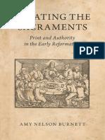 Debating the Sacraments