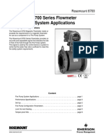 Technical Note Rosemount 8700 Series Flowmeter in Fire Pump System Applications en 87722