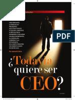Todavía Quiere Ser CEO Nov Dic 2009