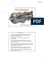 Apresentação Ciclo Brayton