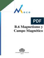 B.6 Magnetismo y Campo Magnético