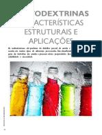 MALTODEXTRINAS - Características Estruturais e Aplicações