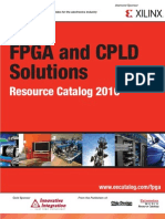 FPGA and CPLD Solutions Resource Catalog 2010