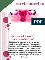 Cancer Cervicouterino