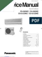 Panasonic CS-G93KE / CU-G93KE