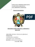 informe quimica analitica