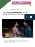 Jai Courtney Workout_ How Jai Got Swole for Terminator_ Genisys