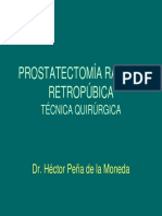 Prostate c to Mia Radical
