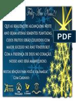 Mensagem de Ano Novo - Oficial