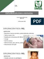 Exploracion fisica neonatal