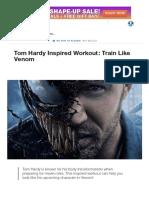 Tom Hardy Inspired Workout_ Train Like Venom