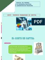 2. El Costo de Capital