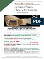 IHVH YESHUA - El Elohim De Israel entre el Tanaj y el Brit haDasha - Introducción.pdf
