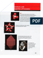 Chapter #12 Structures and Properties of Ceramics