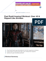 Paul Rudd Inspired Workout_ Over 40 & Ripped Like Ant-Man