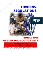 Bread and Pastry Production NC II TR