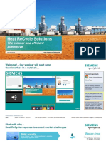 Siemens Heat Recycle Solutions Final