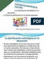 La Planificación Estratégica en La Educación Maestria