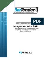 Bartender Integration With Sap