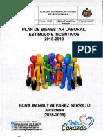 3227 Plan de Bienestar Laboral Estimulos de Incentivos 20182019