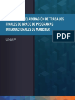 Guia Para La Elaboracion Del TFM UNAP Cohortes 2017