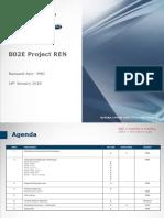 180111 - B02E REN Meeting