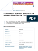 Shredded Like Wolverine Workout_ Build a Leaner, More Muscular Physique _ Muscle & Strength